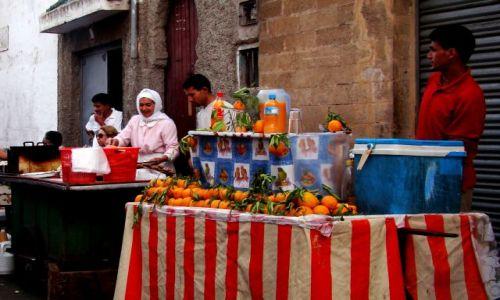 Zdjecie MAROKO / - / Marrakesz / Sprzedawcy soku