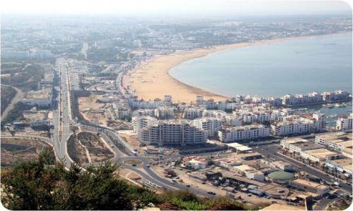 Zdjęcie MAROKO / - / AGADIR / Trochę inny widok na Agadir.