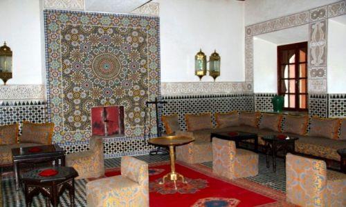 Zdjęcie MAROKO / - / TARUDANT / Hotel PALAIS SALAM - wnętrza #3