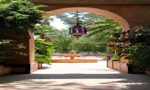 Zdjęcie MAROKO / - / TARUDANT / Hotel PALAIS SALAM - wejście/wyjście
