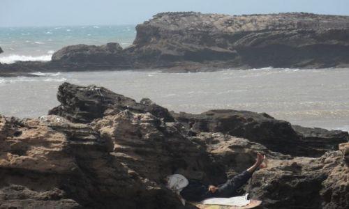 Zdjecie MAROKO / Esaouira / Esaouira / Widok na Ocean Atlantycki