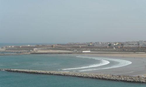 Zdjęcie MAROKO / Rabat / Rabat  / Widok na plażę w Rabacie