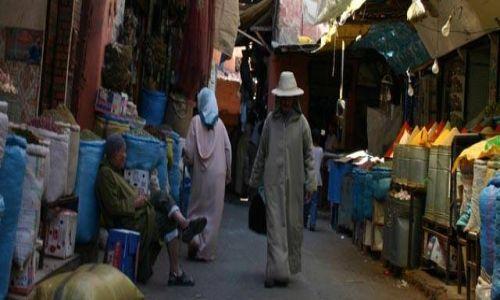 Zdjecie MAROKO / brak / Marrakesz / medina