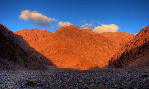 Zdjecie MAROKO / Atlas Mountains / dolina Ifni / Barwy poranka