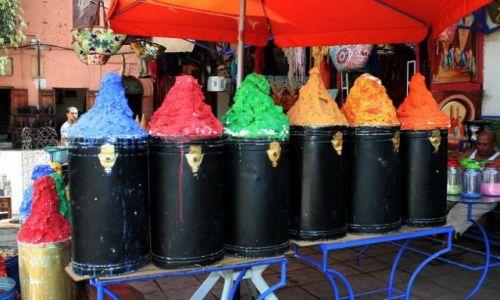 MAROKO / - / Marakesz / Kolory Maroka w jednym miejscu