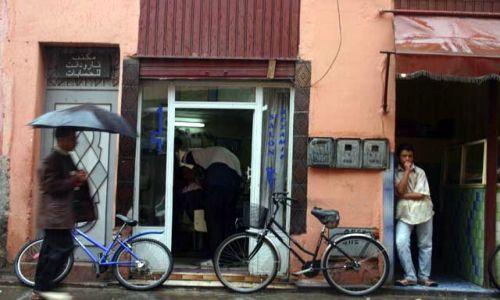 Zdjecie MAROKO / brak / Tarudant / w deszczu