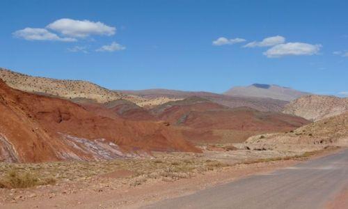 Zdjecie MAROKO / - / gdzieś w górach Atlasu / Kolorowo...