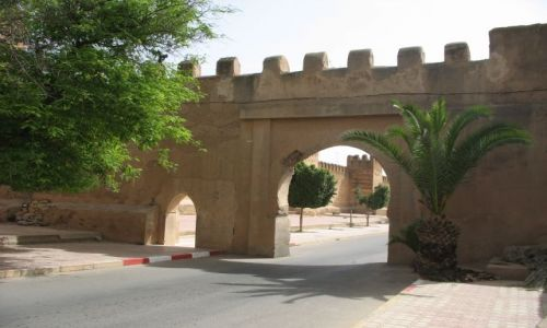 Zdjecie MAROKO / - / Maroko / bramy miasta