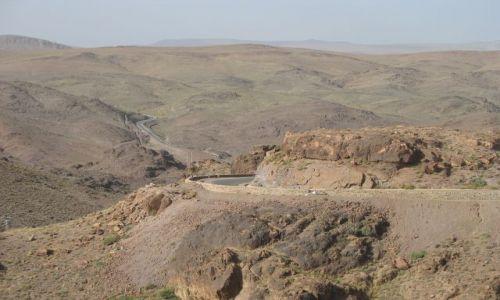 MAROKO / - / na południe od Atlasu Wlk / krajobrazy Maroka południowego