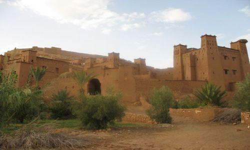 Zdjęcie MAROKO / - / Ait Benhaddou / miasto z gliny wpisane na liste swiatowego dziedzictwa