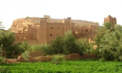 Zdjęcie MAROKO / - / Ait Benhaddou / od wiek wieków stoi gliniane miasto