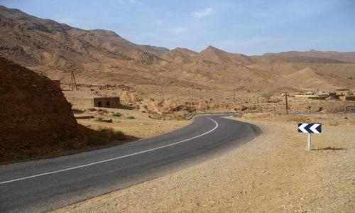 Zdjecie MAROKO / - / MAroko południowe / drogi Maroka