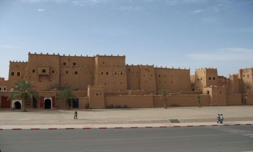 Zdjecie MAROKO / - / Taourirt / architektura marokańska