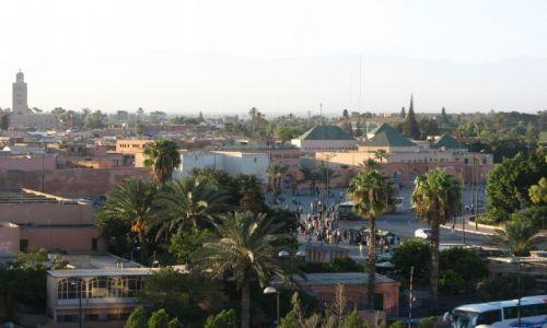 Zdjęcie MAROKO / - / Marrakesz / poranek w Marrakeszu