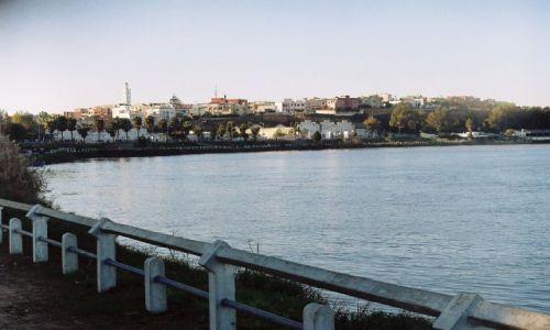 Zdjęcie MAROKO / Kenitra / Kenitra / Kenitra i rzeka Subu