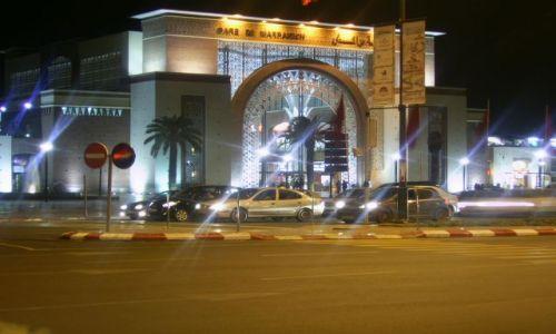 Zdjecie MAROKO / Atlas Wysoki / Marrakesh / Gare de Marrakesh