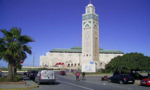 Zdjęcie MAROKO / Casablanca / Casablanca / Meczet Hassana