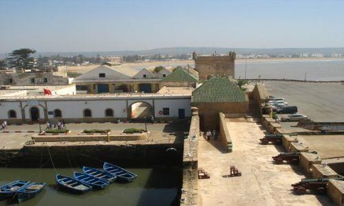 Zdjecie MAROKO / - / Essauira / widok z murów obronnych