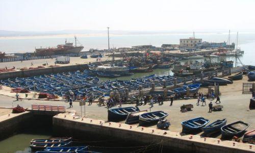Zdjęcie MAROKO / - / Essauira / port rybacki