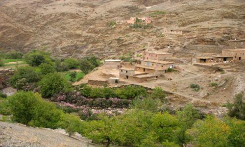 Zdjecie MAROKO / - / Maroko- południe, Góry Atlas / w górach Atlasu Wysokiego