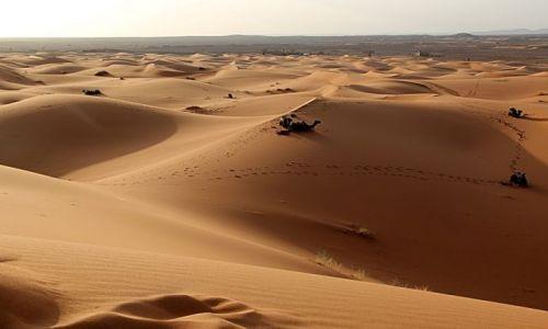 Zdjecie MAROKO / południowo-wschodni kraniec Tafilant / okolice ERDFOUD / Sahara #11, godz. 19:30.