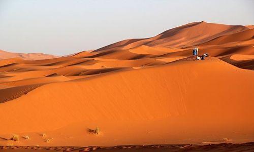 Zdjecie MAROKO / południowo-wschodni kraniec Tafilant / okolice ERDFOUD / Sahara #15