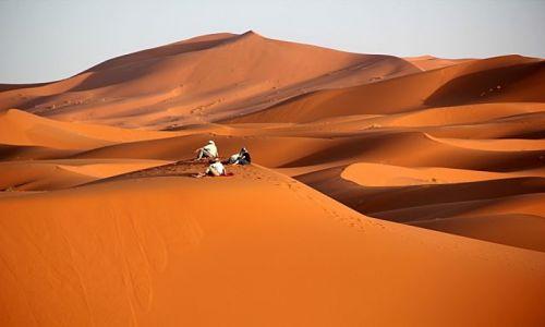 Zdjecie MAROKO / południowo-wschodni kraniec Tafilant / okolice Erfoud / Sahara #19,