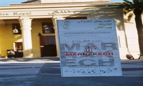 Zdjecie MAROKO / Atlas Wysoki / Marrakesh / Festiwal filmowy w Marrakesh 2011