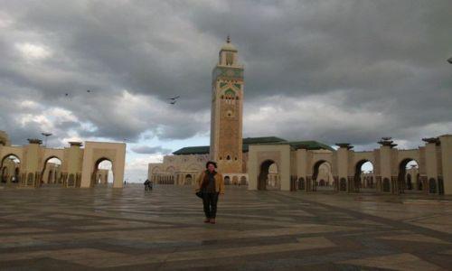 Zdjęcie MAROKO / Casablanca / Meczet Hasana II / Casablanca w styczniu