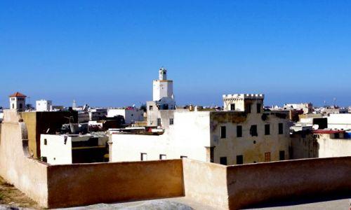 MAROKO / zachód Maroka / Al Dżadida / Widok z twierdzy