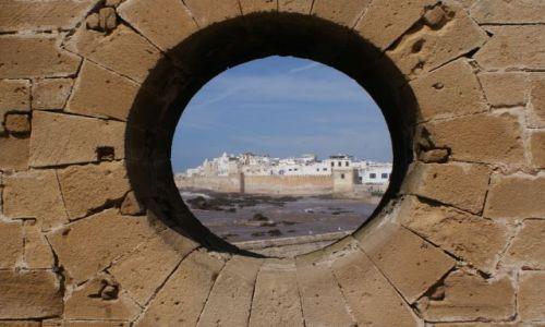 Zdjecie MAROKO / - / essaouirE / Widok na miasto Essaouira