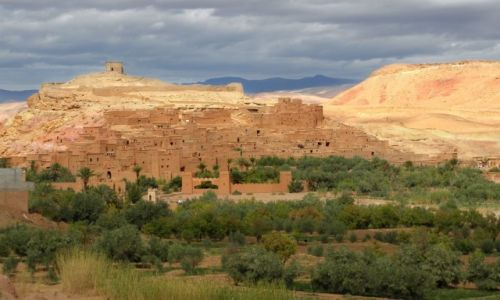 Zdjecie MAROKO / Okolice Ouarzazate / Ait Bin Haddou / Twierdza 1