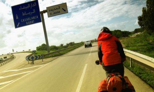 Zdjecie MAROKO / Maroko / Maroko / Rowerem przez a