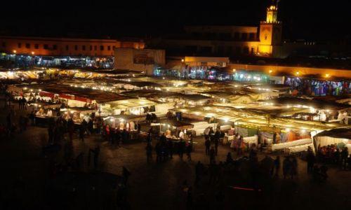 Zdjecie MAROKO / Marrakesz-Tansift-Al-Hauz  / Marrakesz / Plac Dżamaa al-Fina