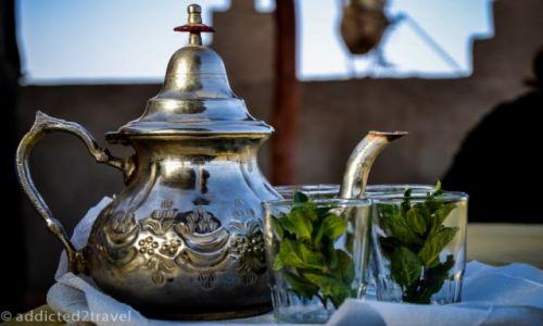 MAROKO / Merzouga / Merzouga / Marokańska herbatka