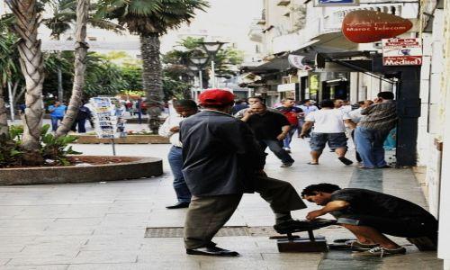 Zdjecie MAROKO / Casablanca / centrum / Pucybut