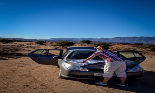 MAROKO / Tafroute / Maroko / autem po Maroku