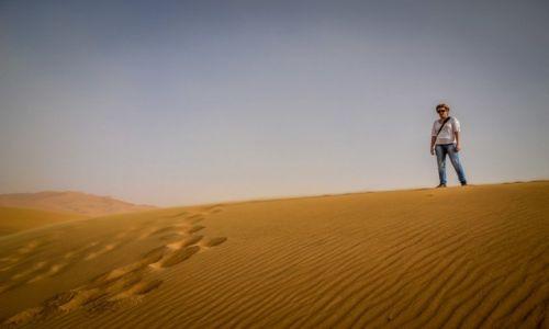 MAROKO / Merzouga / Merzouga / Pustynia w Maroku
