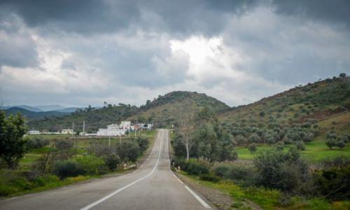 MAROKO / - / - / drogi w Maroku