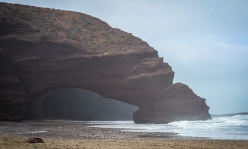 MAROKO / Maroko / Legzira Beach / Plaże Maroka