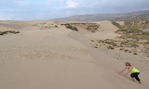 MAROKO / Essaouira / - / Marokańskie wydmy