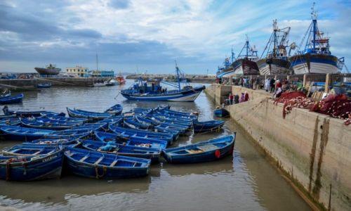 MAROKO / Essaouira / Essaouira / Port w Essaouirze