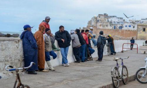 MAROKO / Essaouira / medina / Port w Essaouirze