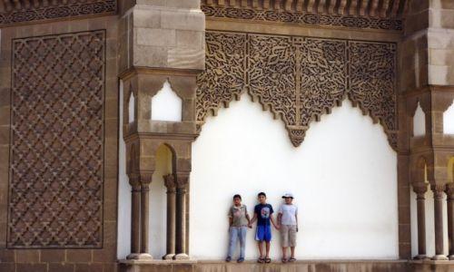 Zdjecie MAROKO / Agadir / Meczet Mohammeda V / Zabawa