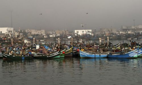 MAROKO / - / Agadir / port