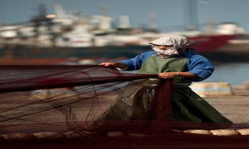 MAROKO / - / Agadir / w porcie