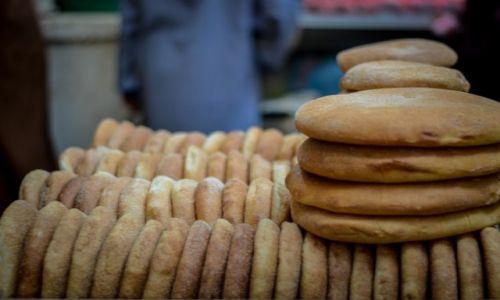 Zdjęcie MAROKO / Maroko / - / marokański chleb