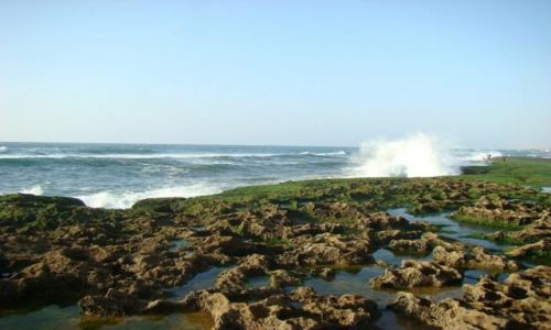 MAROKO / Rabat / Rabat / Malownicza linia brzegowa