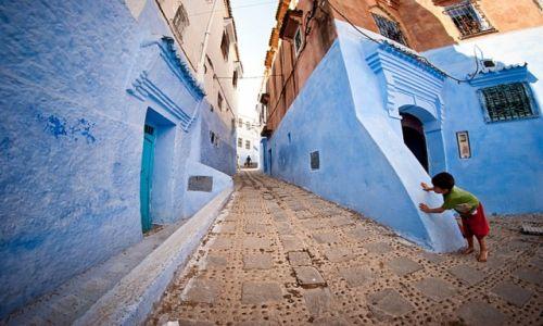 Zdjecie MAROKO / Północne Maroko / Szefszałan / Chłopiec