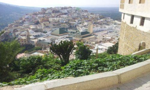 Zdjecie MAROKO / Niedaleko Meknes / Mulay Idris / Mulay Idris